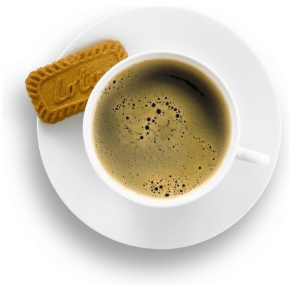 Biscoff with coffee