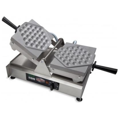 SWiNG Waffle Maker + Bubble Waffle Baking Plates