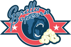 Gorilla Popcorn Logo
