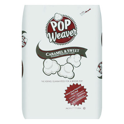 Pop Weaver Popcorn 50lb Bag
