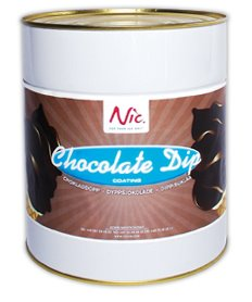 Dip-coating, Choklad
