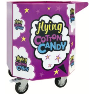 Flying Cotton Candy Cart