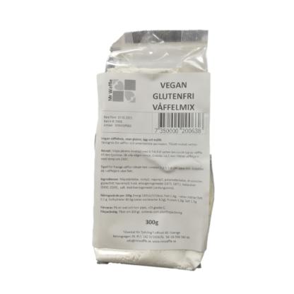 Vegan Glutenfri Våffelmix 300gr