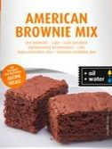 Browniemix Cake amerikansk