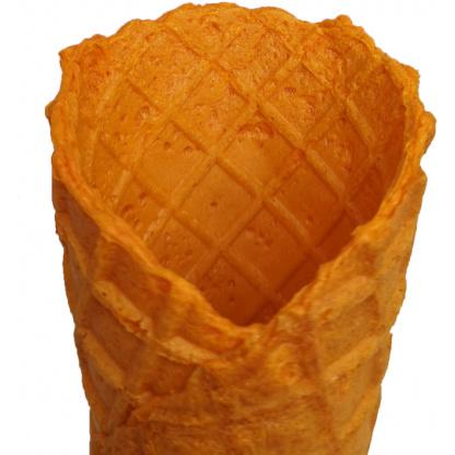 våffelstrut apelsin in zoom webb