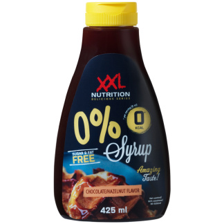 Zero Syrup Chocolate Hazelnut XXL Nutrition