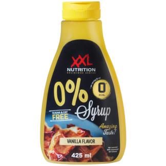 Zero Syrup Vanilla XXL Nutrition