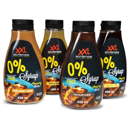 Zero Topping Sauces