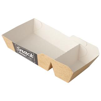 Snacksbricka 2-delad för topping