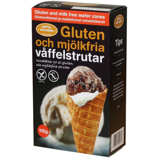 Gluten free waffle 12 x 10-pack